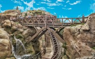 Seven Dwarfs Mine Train ©2014 Monica Bryant Photography