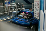 One of the Test Track cars