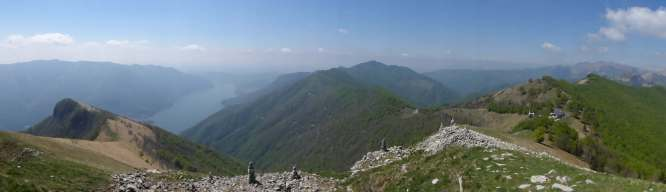 View from the top of Colmegnone