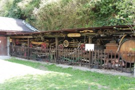 Old wagon store