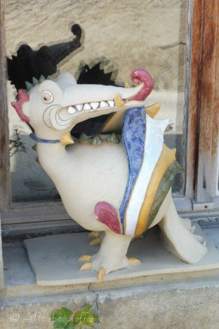 Sorry - I mean a dragon !