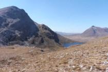 6. An Ruadh Stac (L), Loch Coire an Ruadh-staic and Beinn Damh (@903m)