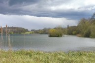 Great Lake with Castle Howard behind