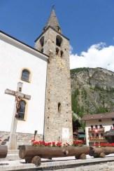 33 Evolène church