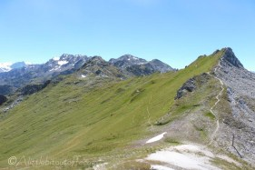 14 The way ahead to Greppon Blanc