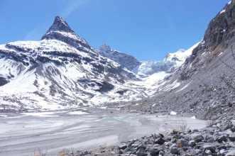 7 Mont Miné and glacier