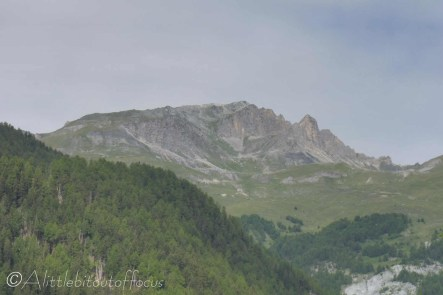 1 Pic d'Artsinol from the chalet