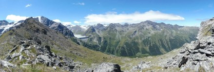 14 Dixence Dam from Col de la Meina