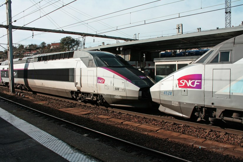 SNCF Trains at station