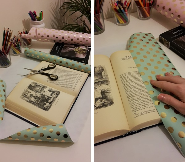 DIY Friday – Luxury dust jackets that get your message across. Step 1
