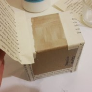 DIY Friday – Bookish boxes for your most precious possessions (or Knickknacks)!