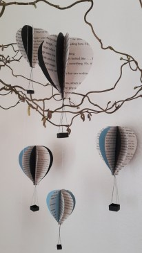 DIY Friday – Bookish air balloon mobile 28