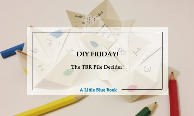 DIY Friday – The TBR pile decider!