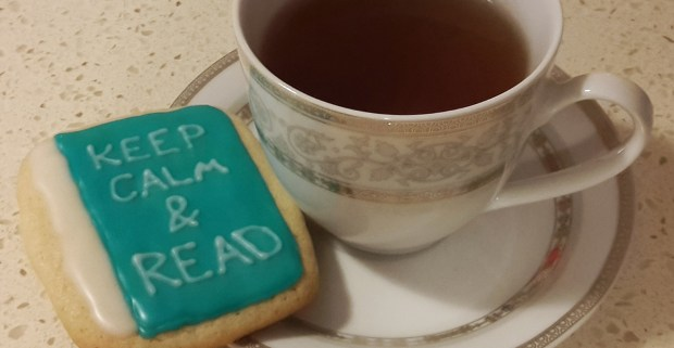 DIY FRIDAY - Bookish cookies