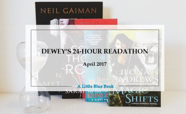 Dewey's 24-hour readathon - April 2017