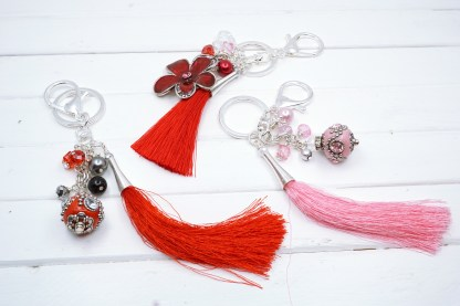 valentine gift Bag Charms
