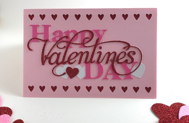 Valentine S Day Card A Little Crafted Sunshine