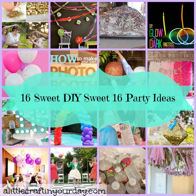 Sweet 16 Decoration Ideas Home Birthday Party Food Spring Garden And Savory