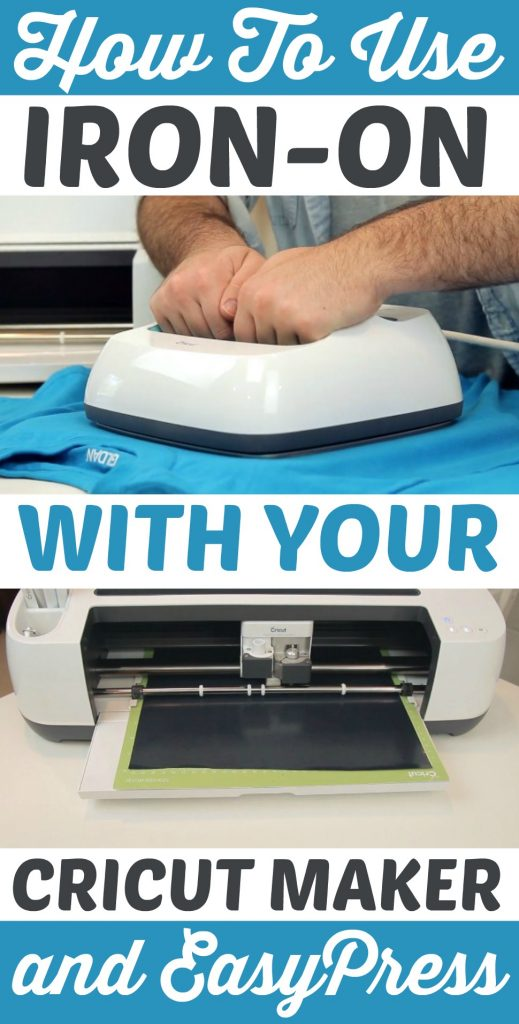 How To Use Iron On With Your Cricut Maker And EasyPress