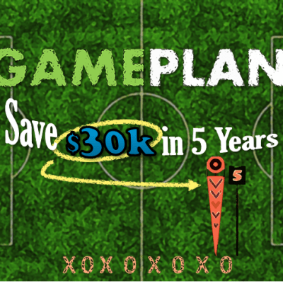 Gameplan: Save $30,000 in 5 Years