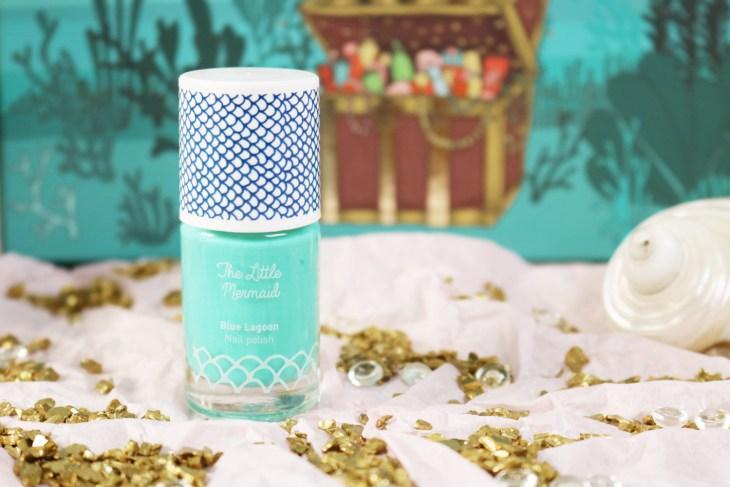 "Beautiful Box ""The Little Mermaid"" : vernis blue lagoon"