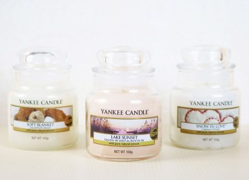 Bougie Yankee Candle pour une soirée cocooning