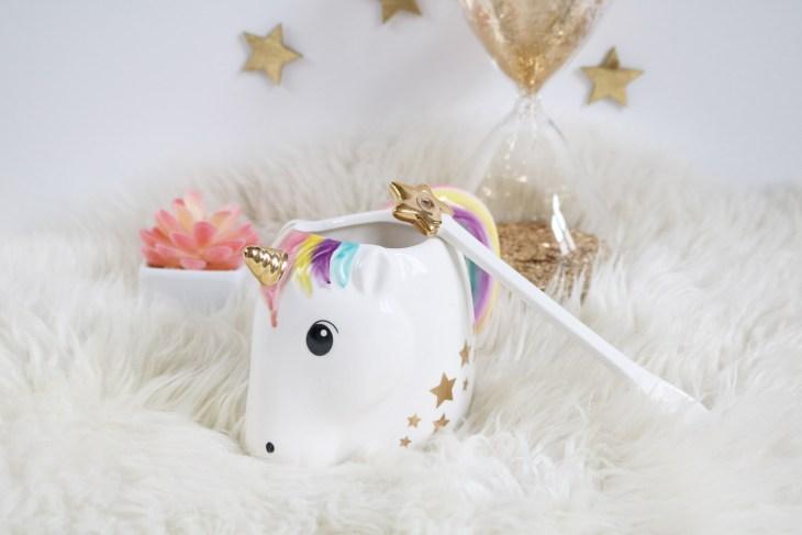5 idées cadeaux licorne : tasse licorne Coolgift