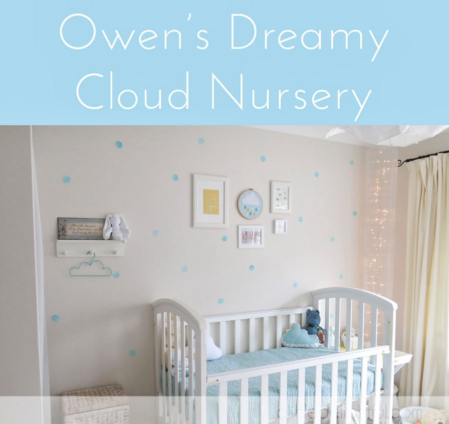 Owen's dreamy cloud nursery