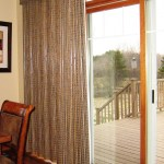 Window Treatments For Sliding Patio Doors A Little Design Help