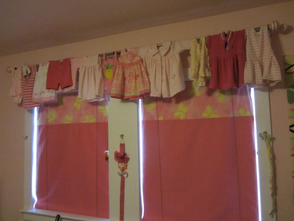 No Sew Bedroom Valance