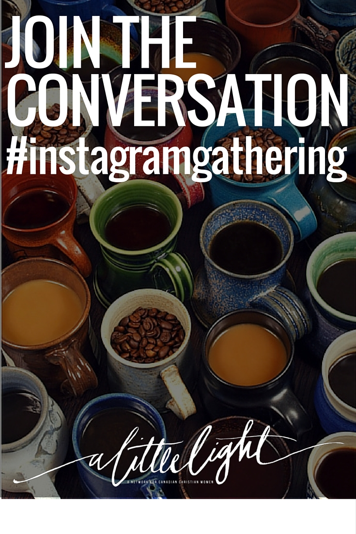 Join our next #instagramgathering