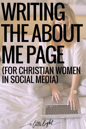 tips for the christian woman in social media