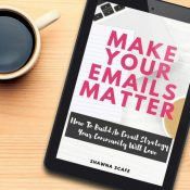 We wrote this eBook for the blogger/brand looking to engage their community. Email is the only form of social networking you control and it is one of the most intimate ways to connect with your audience. Make sure to grab this on kindle for the all the why and the how to make your emails matter to your community