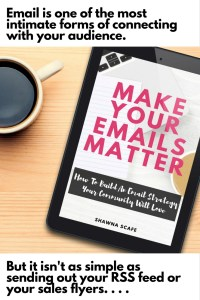 make your emails matter ebook pin image