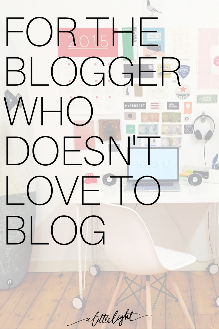 the mindsets we have around blogging could limit our ability to think beyond the blog post. People aren't hanging out on blogsites as much anymore, how can we better serve them where they are?