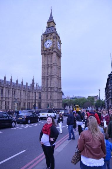 Me, the bump, Big Ben