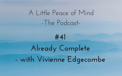 Episode 41: Already Complete with Vivienne Edgecombe