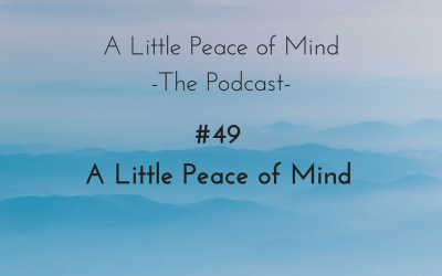 Episode 49: A Little Peace of Mind
