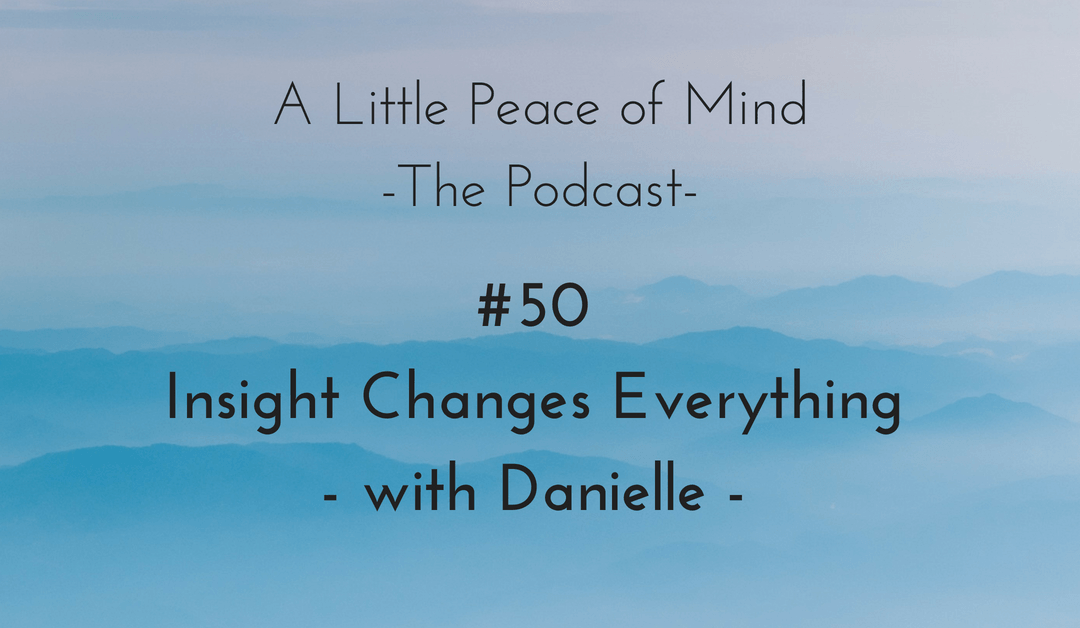 Episode 50 – Insight Changes Everything