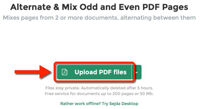 Upload PDF Files