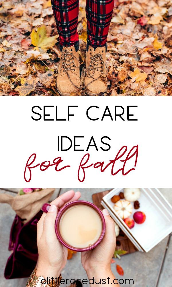 self care ideas for fall