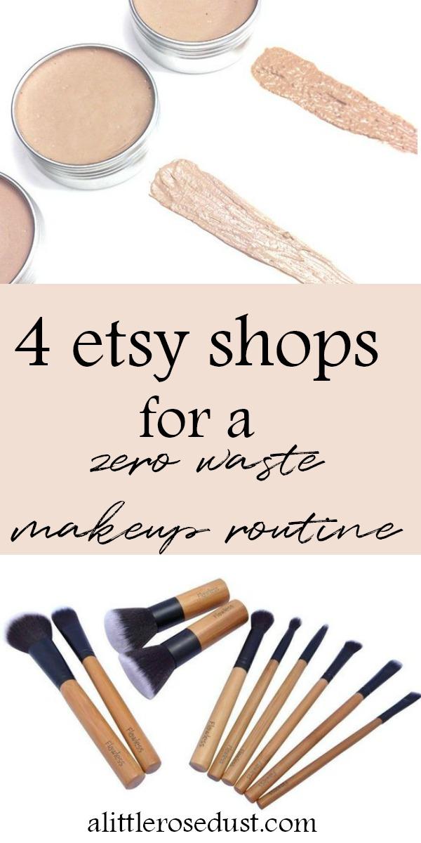 zero waste makeup routine