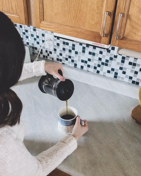 zero-waste coffee routi