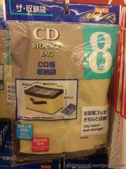 Cd storage bag.