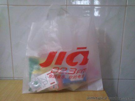 My goodie bag. |alittletypical.wordpress.com