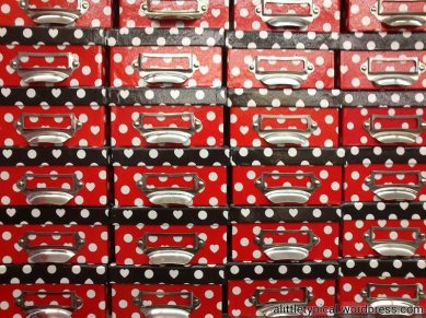 Mickey Mouse themed boxes.