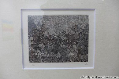 Untitled (24). 2008. 9.5x11.5cm. Etching. Ed 30/ AP3. SGD 940. Aspire to draw like this.