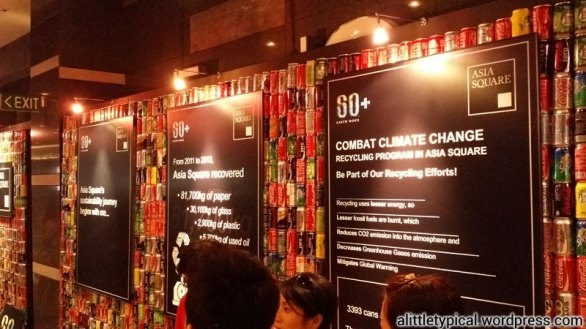 Earth Hour exhibition.