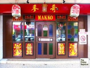 Restoran Nyonya Makko. Photo by The Friday Rejoicer.