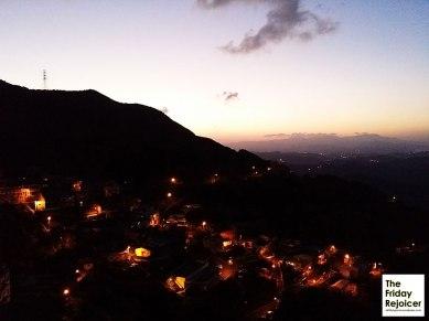 Mesmerising sunset at Jiufen